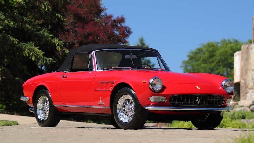1966 Ferrari 275 Gts F122 Monterey 2019 Ferrari Mecum Mecum Auction