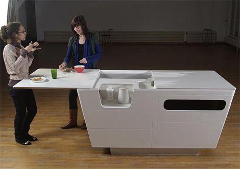 Mini Kitchens   Modern Mini Kitchen Design By Ensci