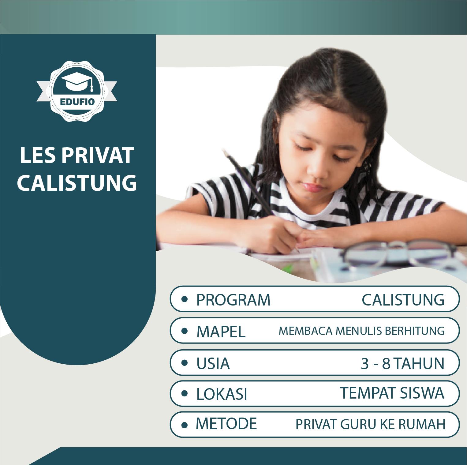 Program Les Privat Calistung Di Jogja Dengan Guru Datang Ke Rumah Daftar Online Di Edufio Com Daftar Atau Wa Kami Di 0877 8000 9249 L Guru Pendidikan Membaca