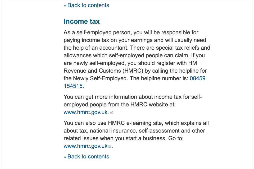 Self Employes Tax Self Income Tax No Response
