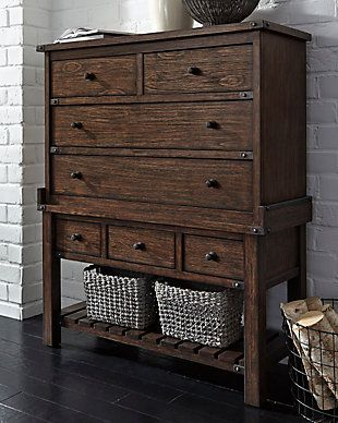 Zenfield Chest Of Drawers Chest Of Drawers Drawers Ashley Furniture Homestore