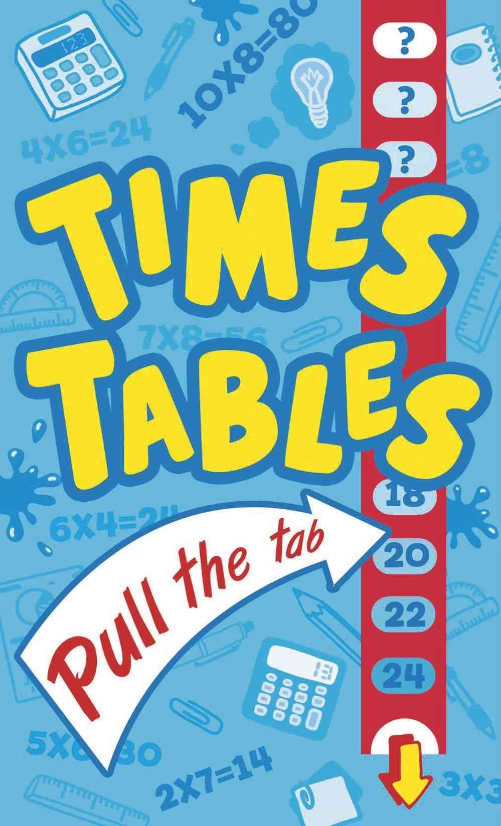 Times Tables Pull the Tab | Products | Pinterest | Times tables ...