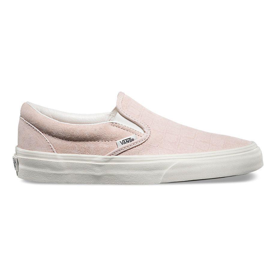 6b3637a15937 Vans Croc Embossed Slip On Sneaker in Light Pink Under  100 ...