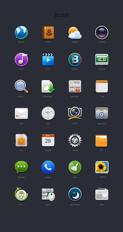 Icon by Ava_Q App icon design, Phone icon, Launcher icon