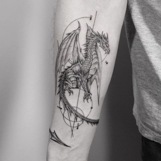 Photo of Dragon… done Fleur Noire Tattoo – Brooklyn iphone #besttattoo – diy best tattoo images