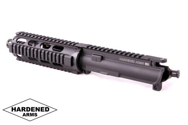 """Product Details: 7.5"""" 5.56mm Tactical Quad Rail Upper"""