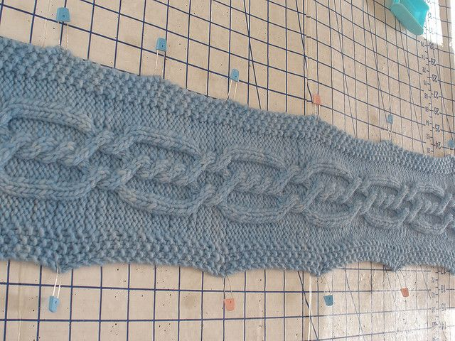 Ravelry Project Gallery For Cable Scarf Pattern By Barbara Breiter