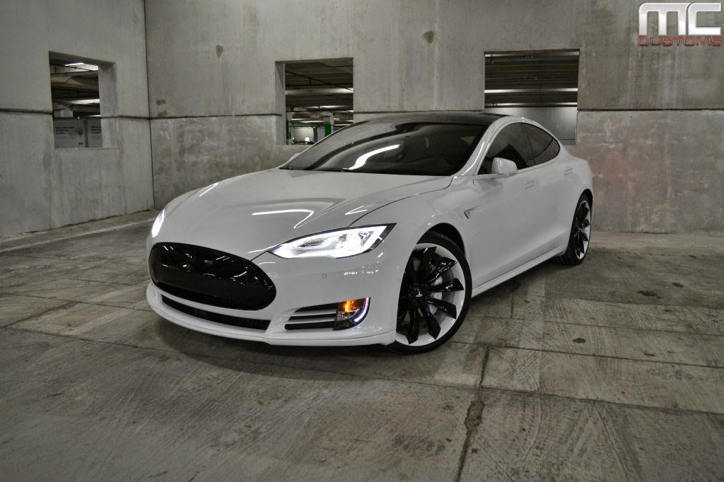 tesla model s p85d by mc customs