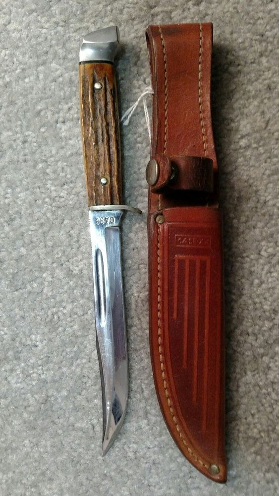 Antique Case Fixed Blade Hunting Knife