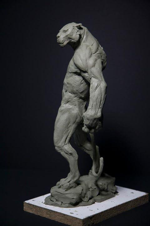 Panterman   Arte   Pinterest   Escultura, Modelado y Anatomía
