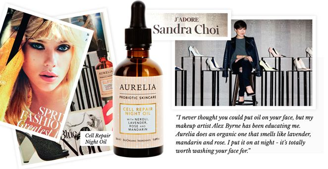 'It's totally worth washing your face for!' as told by Sandra Choi