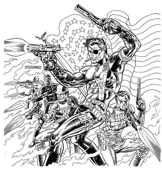 Image Result For Steranko Commission Captain Jim