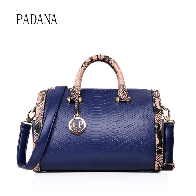 ca5273b9b4df Hot Famous Brand designer handbags Luxury French Valentine Boston bags  Serpentine High capacity women snake shoulder