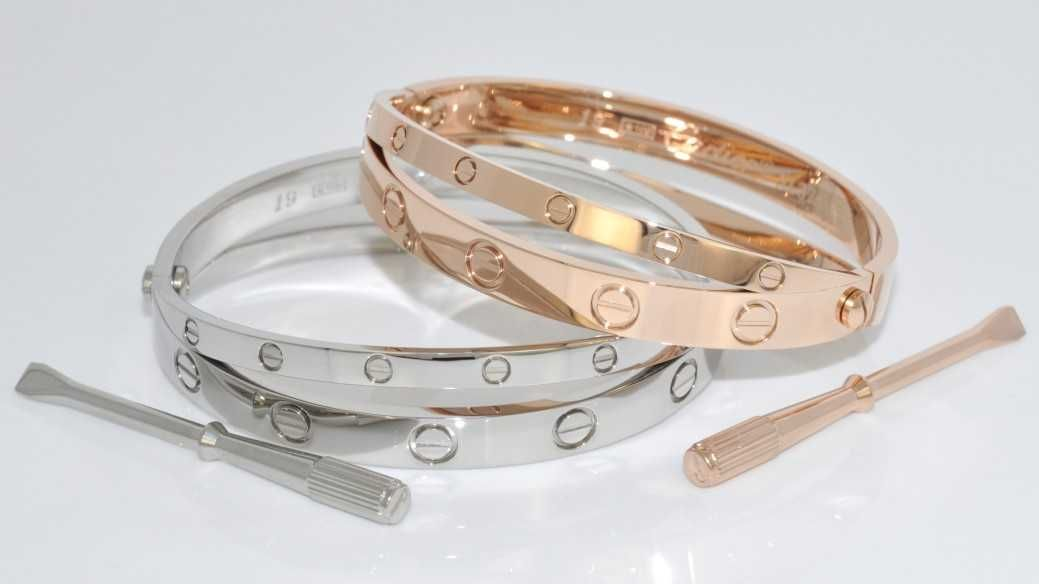 Cartier Love Bracelet Sterling Silver