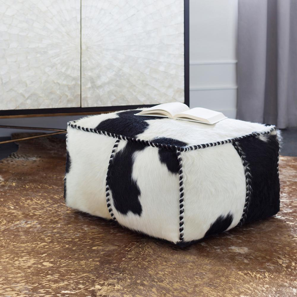 Artistic Stairs Canada: Artistic Weavers Aelham Black Accent Pouf S00151096736 In