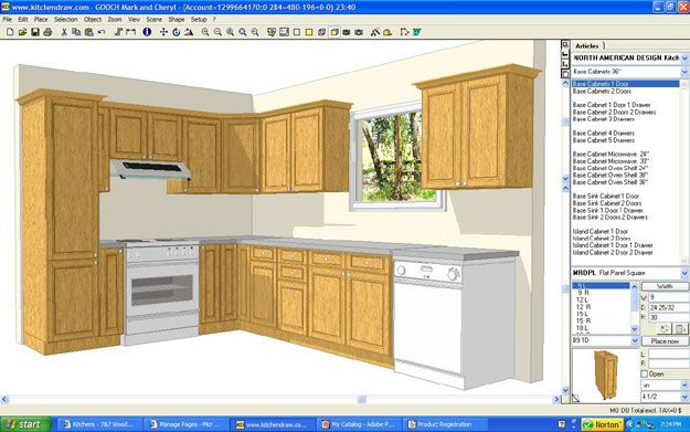Kitchen Cabinet Design Software Home Decor Model Kuchendesign