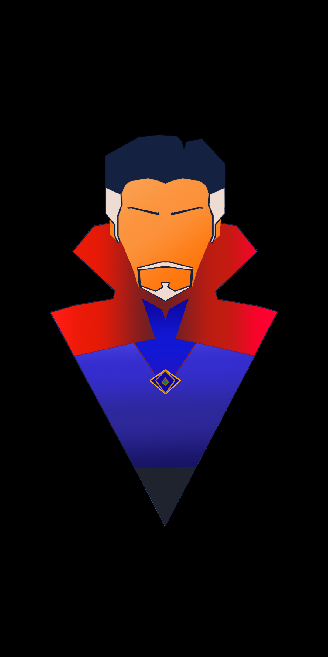 [1080x2160] Doctor Strange vector submitted