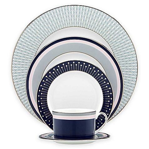 kate spade new york Mercer Drive™ Dinnerware Collection  sc 1 st  Pinterest : kate spade tableware - pezcame.com