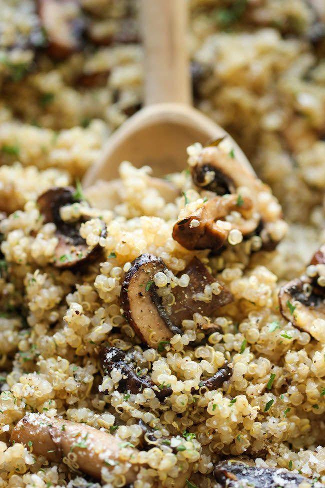 Photo of Garlic Mushroom Quinoa