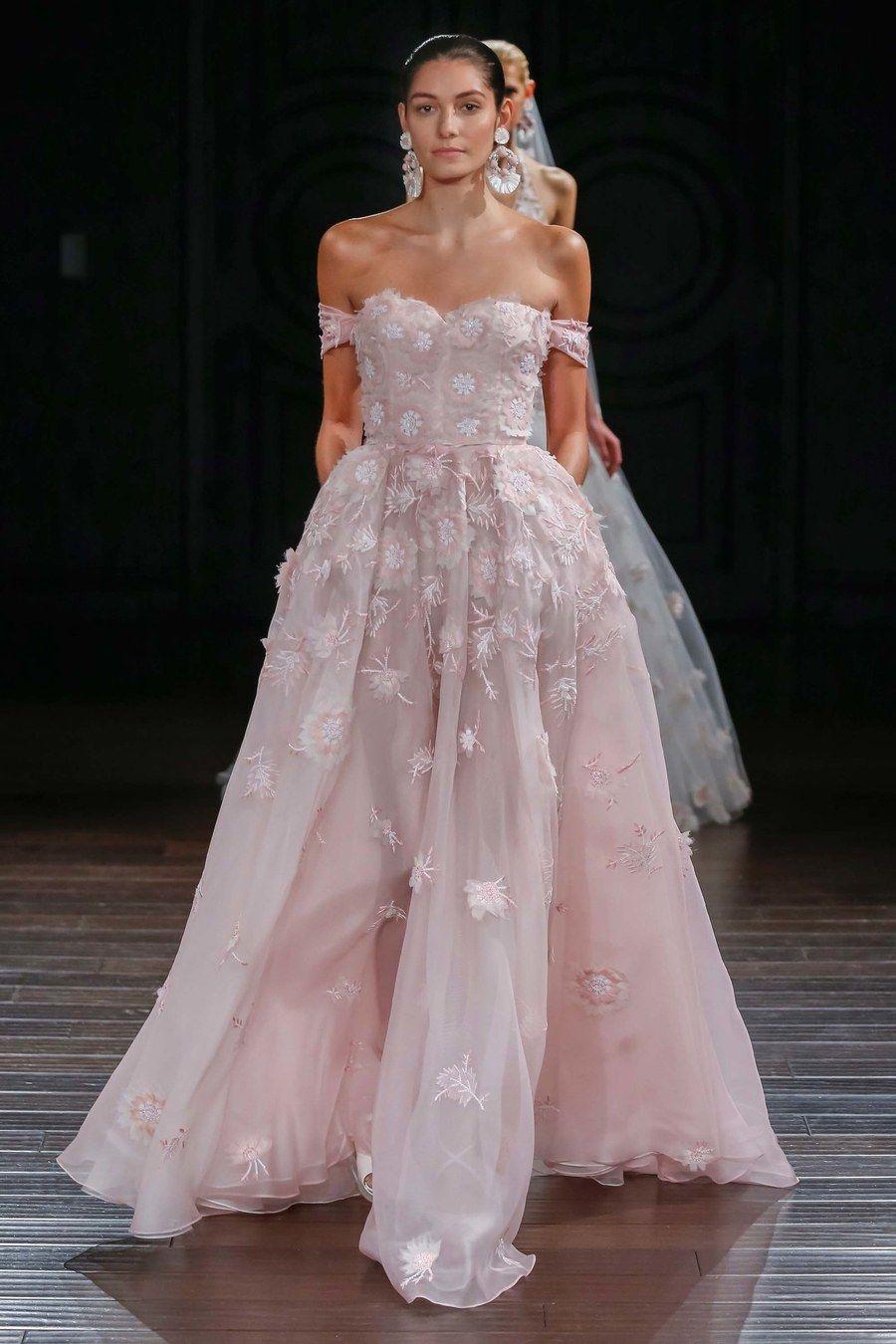 Heiraten in Pink!  Brautkleid designer, Brautkleid, Brautmode