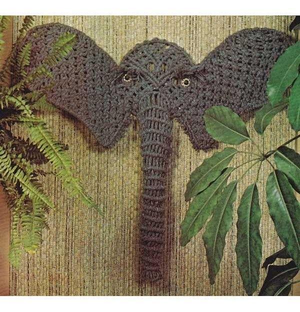 Macrame Elephant Google Search Macrame Art Macrame