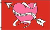 Happy Valentine's Day 3x5 Foot Polyester Flag by Vista Flags. $3.81