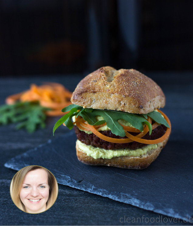 Burger Brötchen Blogger Ingrid Klütz Cleanfoodlover
