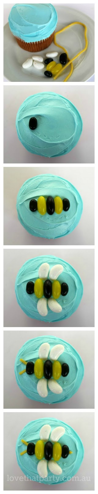How to: super simple bee party cake tutorial. www.lovethatparty.com.au