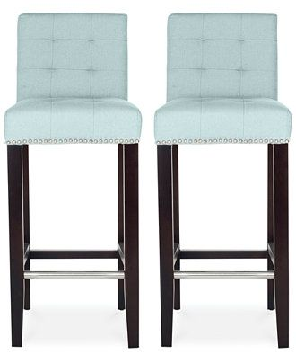Outstanding Esmee Fabric Nailhead Bar And Counter Stools Direct Ship Machost Co Dining Chair Design Ideas Machostcouk