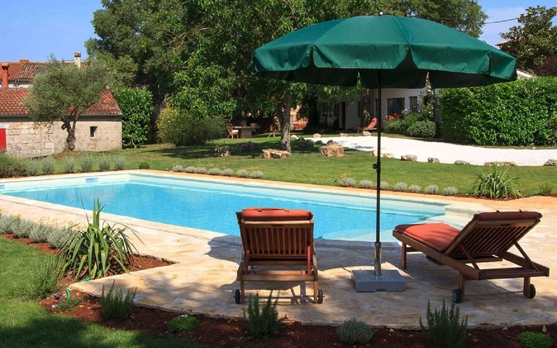 Casa Gaia, Ferienhaus mit Pool in Gambetici, Istrien