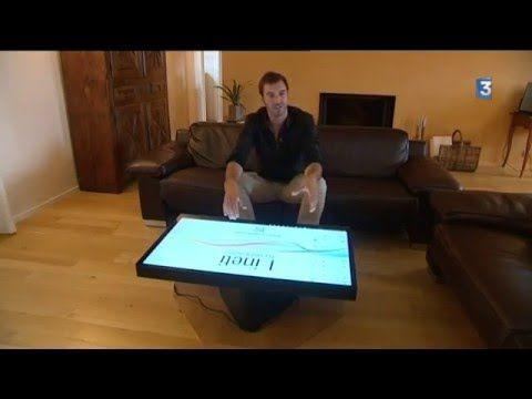 La Table Kineti Youtube La Table Kineti Table Tactile