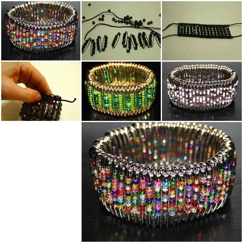How to make cute safety pin wristband diy tutorial instructions how how to make cute safety pin wristband diy tutorial instructions how to how to solutioingenieria Images