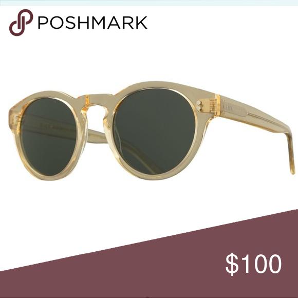 d7a0fcceb715 Raen Parkhurst Polarized Sunglasses Brand New. Raen Optics Parkhurst  Polarized Sunglasses. Champagne frame, Crystal/Green lens RAEN Accessories  Sunglasses