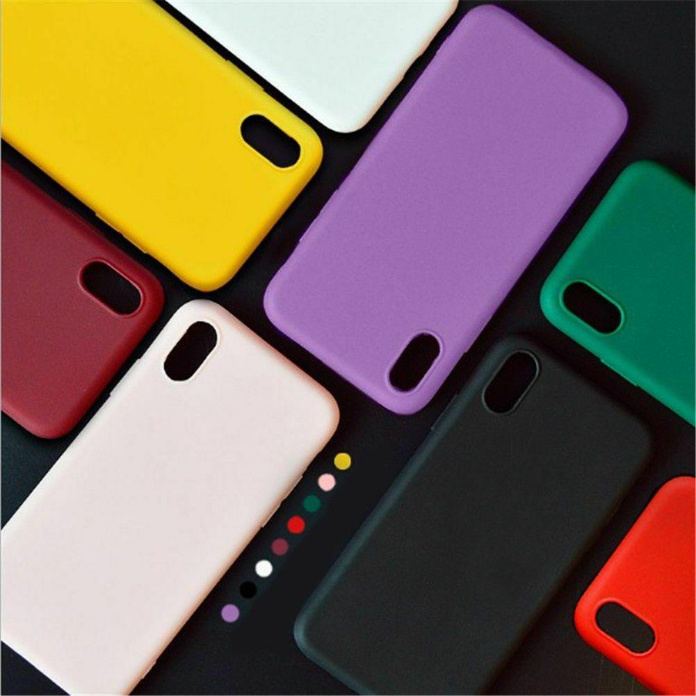 XR XS TPU Rubber Case Cover iPhone 6 6s