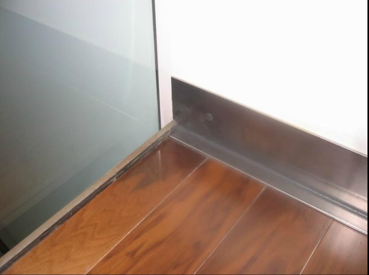 How To Cut Skirting Board >> Raw steel baseboard (like Lola's) | For the Home | Pinterest | Baseboard, Steel and Baseboard ideas