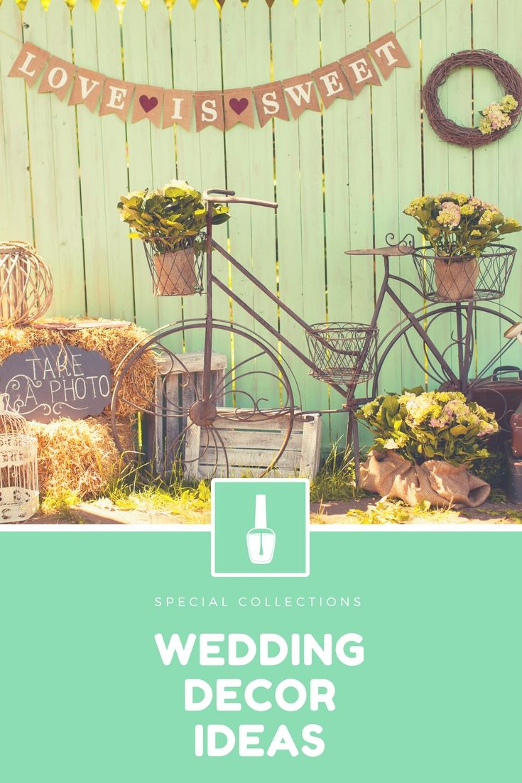 Christian wedding decoration designs  DressUp Your Own Wedding Decor With One Of These Charming Wedding