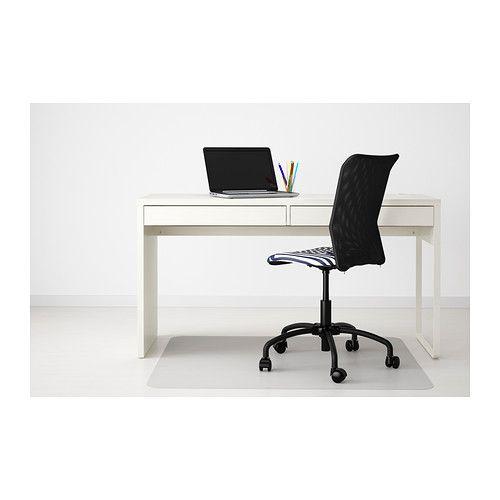 Ikea Micke Scrivania.Scrivania Micke Bianco Grey Yellow Office Spaces Tavolo