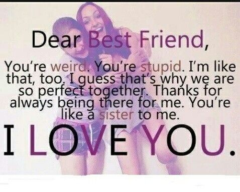 Charmant This Would Go To My Best Friend Autumn Grignon Who Is Always There When  Noone Else
