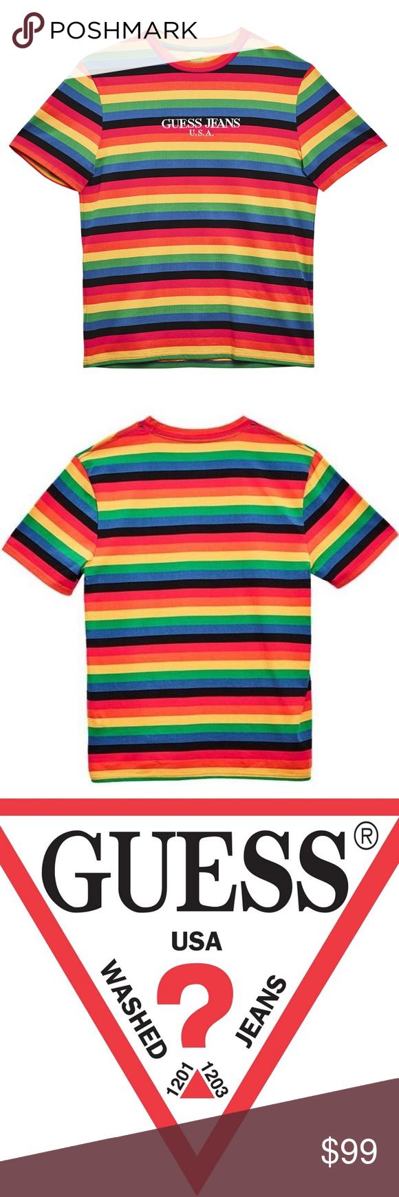 02b75a12d0a4 Guess Jeans Usa Farmers Market Logo Embroidered Cotton Jersey Sweatshirt