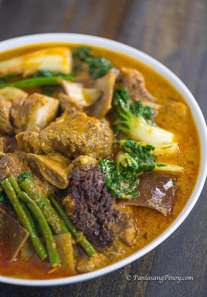 Beef Short Rib Kare Kare Panlasang Pinoy Recipe Pilipino Food Recipe Indian Food Recipes Vegetarian Easy Filipino Recipes