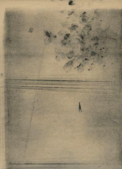 "Gerhard Richter, ""Elbe"""