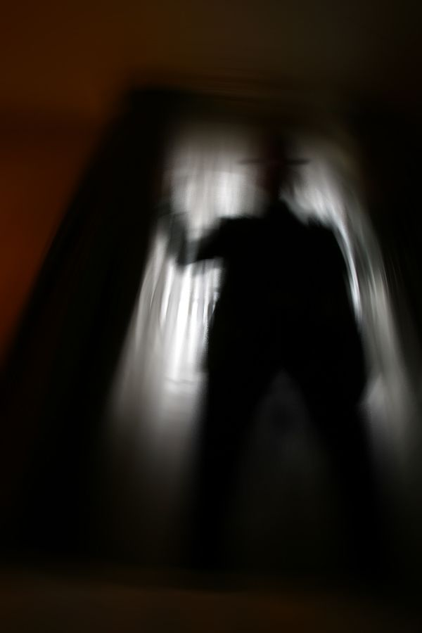 This type of shadow person, seems to be the one most reported by 4yr olds...