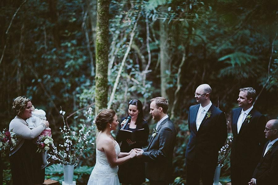O Reilly S Rainforest Retreat Gold Coast Hinterland Ceremony Reception