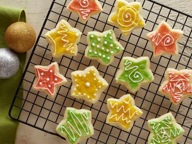 Ambrosia Recipe Christmas sugar cookies, Sugar cookies and