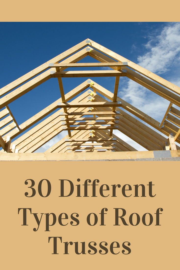 Room In Attic Truss Design: 30 Different Types Of Roof Trusses (Illustrated