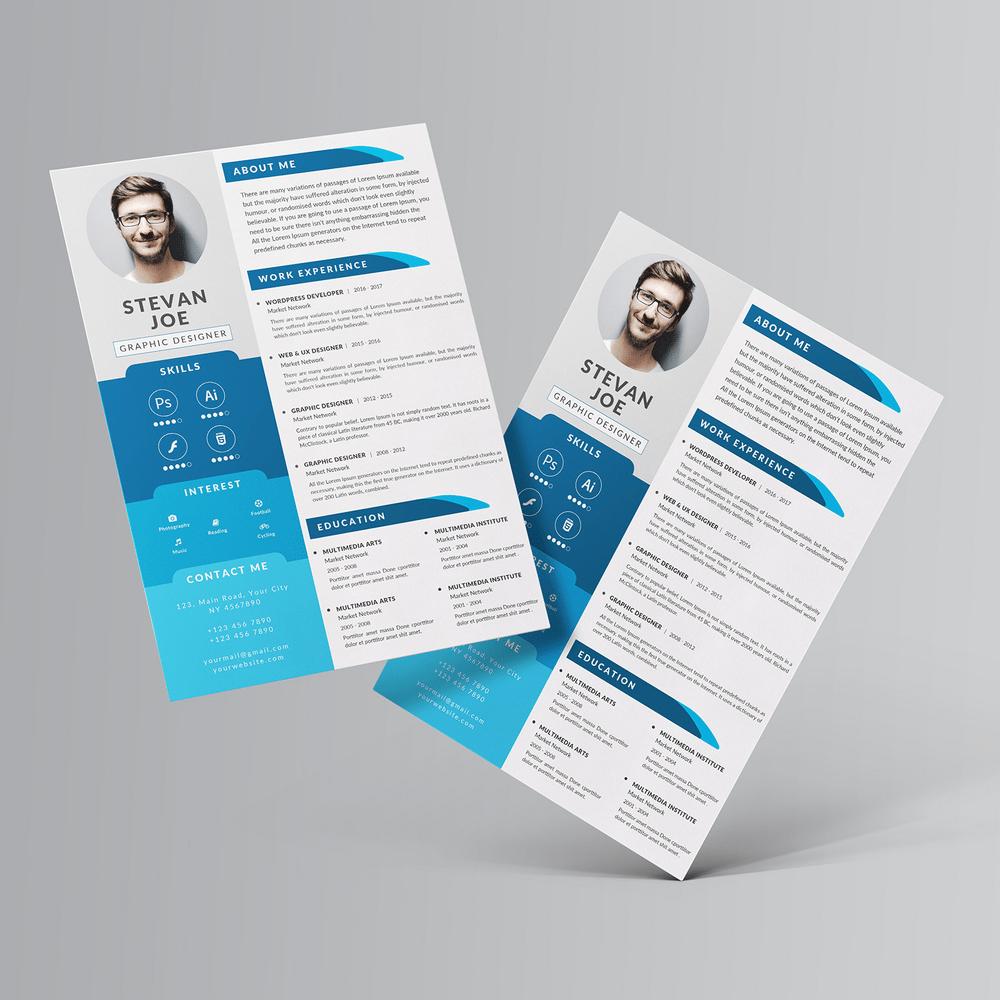 30+ Free Creative Resume Templates PSD Creative resume