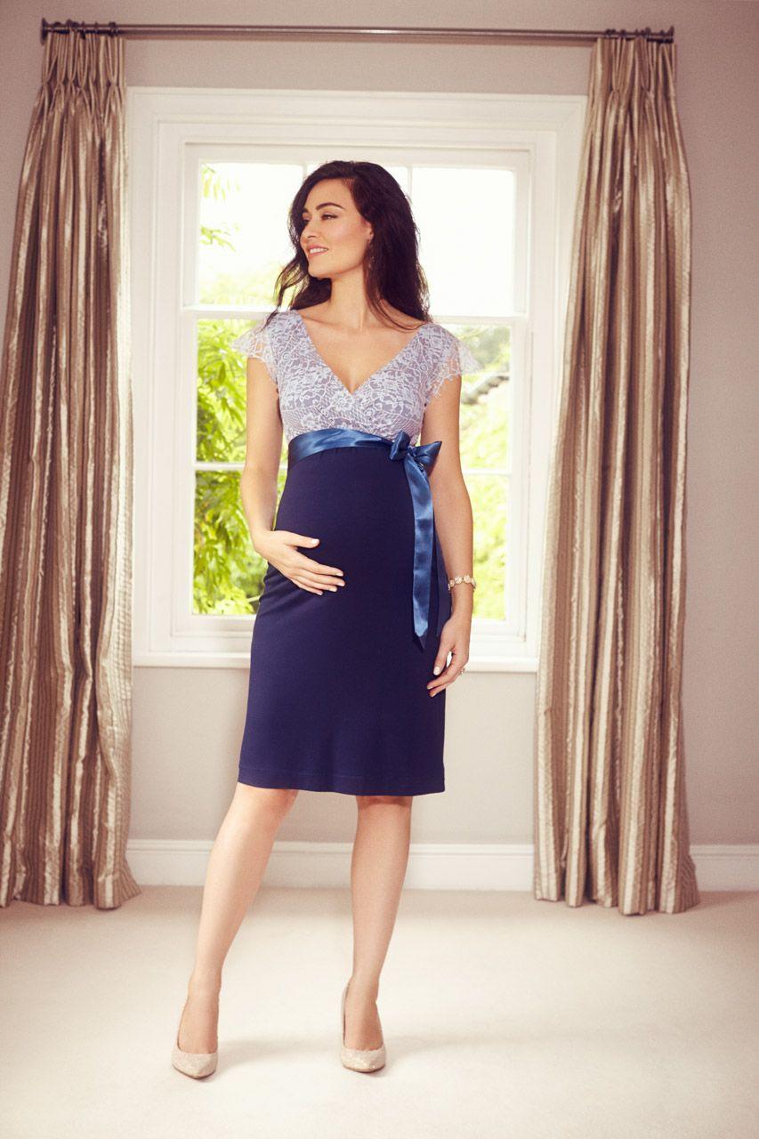 vintage rose umstandskleid blau | umstandskleid, kurze blaue