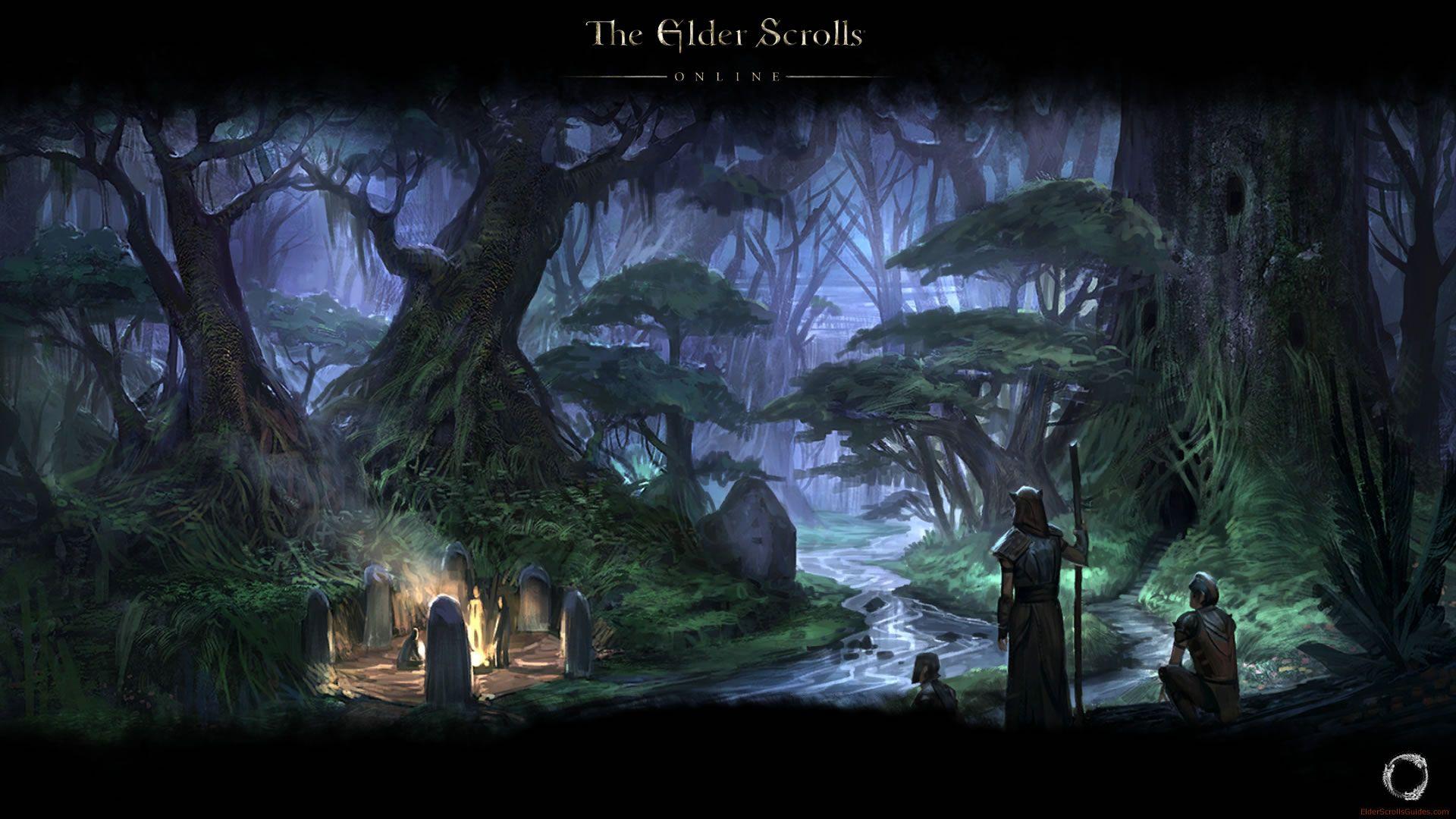 The Elder Scrolls Online Hd Desktop Wallpaper Widescreen