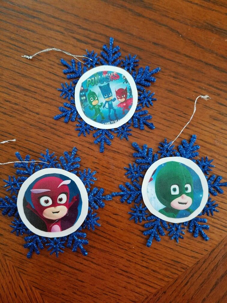 #Pj Mask #ornaments #Christmas | My Projects! | Christmas ...