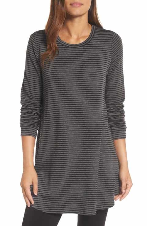2397408c6e14a Eileen Fisher Stripe Stretch Tencel® Knit Tunic